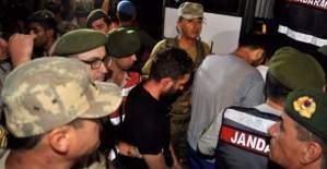 Erdoğan'a suikast düzenleyen 11 darbeci asker yakalandı!