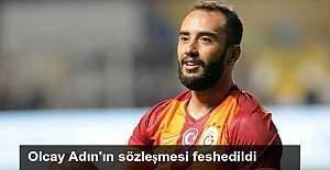 Galatasaray'da Olcay Adın'ın sözleşmesi feshedildi