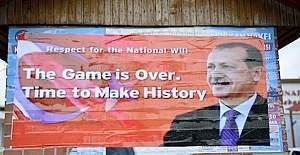 İncirlik'te 'Oyun bitti' afişi!