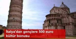 İtalya'dan gençlere 'kültür bonusu'