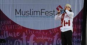Kanada'da 'MuslimFest 2016' kapsamında açık alanda ezan okundu