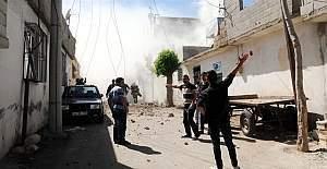 Suriye'den Kilis'e roket atıldı.