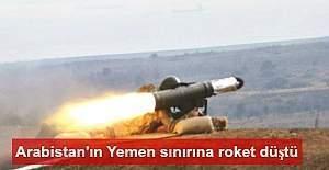 Suudi Arabistan'ın Yemen sınırına roket düştü: 2 çocuk hayatını kaybetti