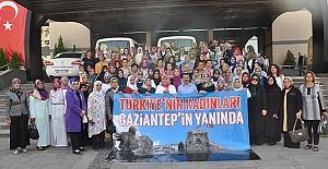 'Türkiye'nin kadınları Gaziantep'in yanında'