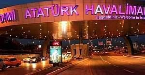 Atatürk Havalimanı güvenlik kapıları açıldı