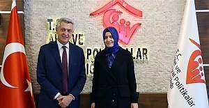 BM Mülteciler Yüksek Komiseri Filippo Grandi, Bakan Fatma Betül Sayan Kaya ile görüştü