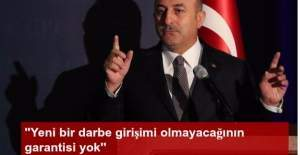 Dışişleri Bakanı Mevlüt Çavuşoğlu, New York'ta konuştu