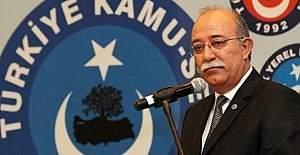 Kamu-Sen Genel Başkanı İsmail Koncuk'tan basın açıklaması