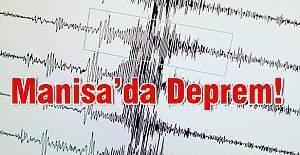 Manisa'da Deprem! Manisa bikez daha sarsıldı!!!