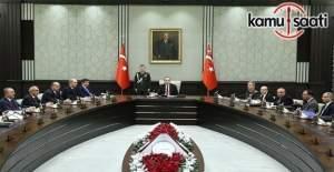 MGK toplantısı Cumhurbaşkanlığı Külliyesi'nde başladı