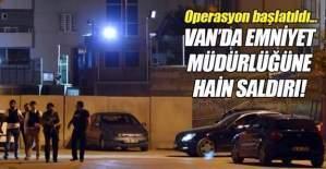 PKK'dan Emniyet Müdürlüğüne hain saldırı!
