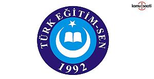 Türk Eğitim-Sen'den, FETÖ'den ihraç edilen üyelere hukuki destek