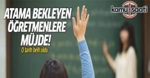 20 bin öğretmen 9 Ekim'de atanacak