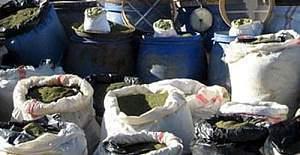 Hakkari'de 2 milyonluk uyuşturucu operasyonu