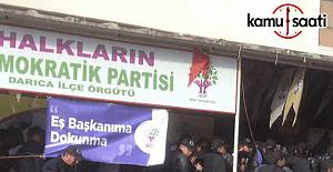 Kocaeli'de HDP'lilere gözaltı