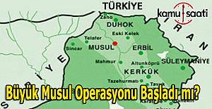Musul operasyonu başladı mı? Türk yetkililerden Musul açıklaması