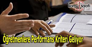 İsmet Yılmaz'dan öğretmenlere performans kriteri açıklaması