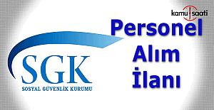 SGK 60 Sosyal Güvenlik uzman yardımcısı alacak