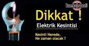 Ankara dahil 7 ilde elektrik kesintisi
