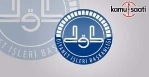 DİB, 4/B sözleşmeli personel alımı sınav yer-tarih duyurusu