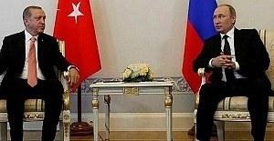 Erdoğan ve Putin'den 2. kez telefon görüşmesi
