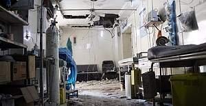 Halep'teki hastanelerde hizmet durdu
