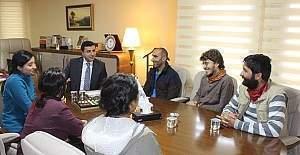 HDP lideri Demirtaş kapatılan ajanslarla görüştü