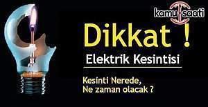 İstanbul'da 9 ilçede elektrik kesintisi (25 Kasım)