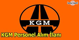 Karayolları Genel Müdürlüğü açıktan personel alım ilanı