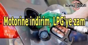 Motorine indirim, LPG'ye zam