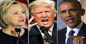 Obama, Clinton mitinginde Trump destekçisini yuhalayanlara tepki gösterdi