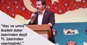 Ali Yalçın'dan Diyanete çağrı, 'Dolar yerine TL'