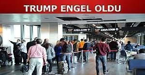 Atatürk havalimanı'nda ABD'ye gidiş yasağı