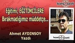 """Ahmet Aydınsoy kaleme aldı - """"Yavuz..."""