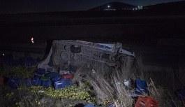 Ankara'da yolcu otobüsü ile kamyon çarpıştı - Yaralılar var