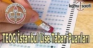 İstanbul Lise Taban Puanları TEOG 2016-2017