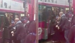 Londra'da Müslüman kadına çirkin...