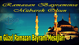 En güzel Ramazan Bayramı mesajları, resimli,...