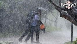 Dikkat! Meteorolojiden kuvvetli yağış...
