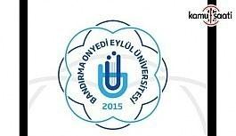 Bandırma Onyedi Eylül Üniversitesi Sürekli...