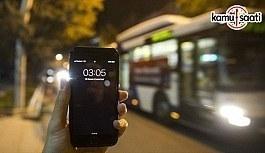Başkentte EGO otobüslerinin gece seferleri...