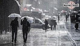Yeni haftada serin ve yağışlı hava etkili...