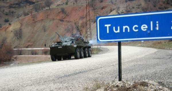 Tunceli'de askere bombalı saldırı 4 yaralı