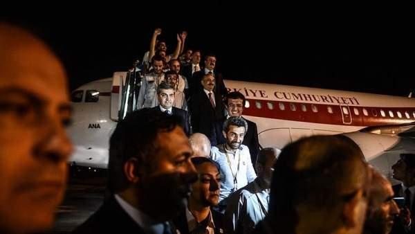 Türk İşçiler Serbest Bırakıldı