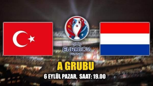 Türkiye-Hollanda Maçı Hangi Kanalda Saat Kaçta?