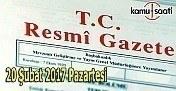 20 Şubat 2017 Tarihli ve 29985 Sayılı Resmi Gazete