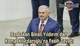 Binali Yıldırım'dan Kılıçdaroğlu'na cevap