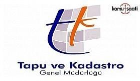 Tapu ve Kadastro Genel Müdürlüğü Personel Yönetmeliğinde değişiklik