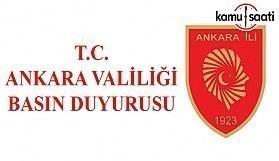 Ankara'da gece ateş yakmak artık yasak