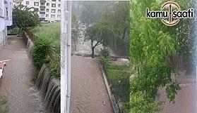 Keçiören Belediyesi önemsemedi, Etlik 243. sokak sular altında kaldı